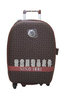 ~雪黛屋~18NINO8121吋行李箱軟箱可加大容量台灣製造品質保證360度靈活旋轉輪後雙飛機輪置物大容量U9310