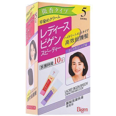 麗絲 美源快速染髮霜5號(自然栗色)【德芳保健藥妝】