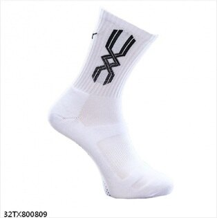 MIZONO美津濃男厚底排球襪(白黑)排球襪32TX800809【胖媛的店】