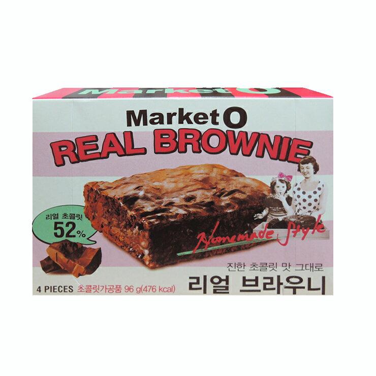 【ORION好麗友】Market O布朗尼蛋糕(96g)