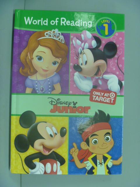 ~書寶 書T6/兒童文學_ZBX~Disney Junior Early Reader C