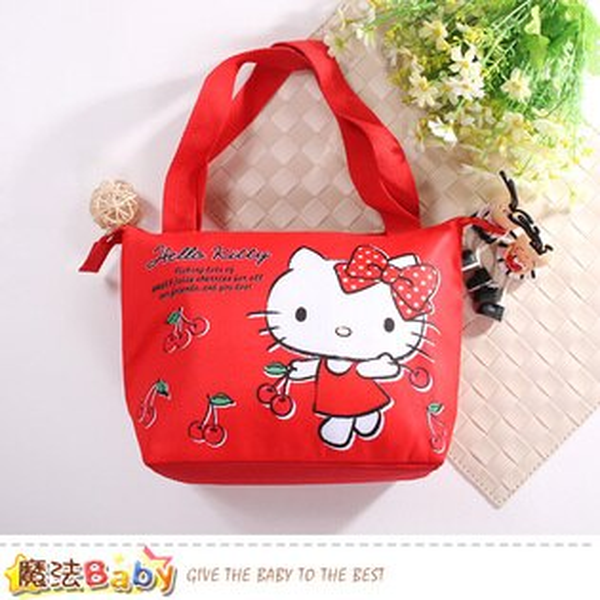 手提袋HelloKitty授權正版保溫保冷提袋魔法Baby~f0280