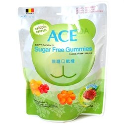 ACE 無糖Q軟糖隨手包(48g/袋)