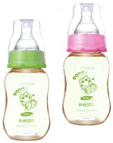 大眼蛙 PPSU葫蘆超乳感防脹奶瓶150c.c   320c.c. 兩色