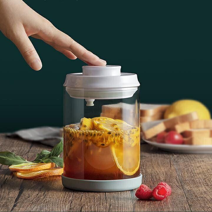 密封罐食品儲物罐防潮果醬玻璃瓶帶蓋