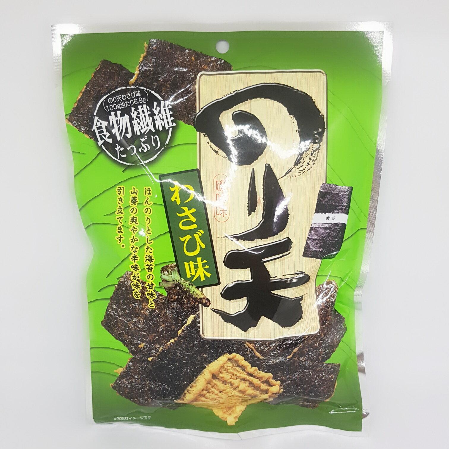 Maruka芥末海苔天婦羅餅-60G包