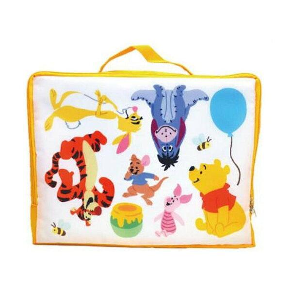 X射線【C144342】小熊維尼WinniethePooh旅用收納包M,旅行袋包裝袋衣物袋收納袋整理袋真空壓縮袋購物袋