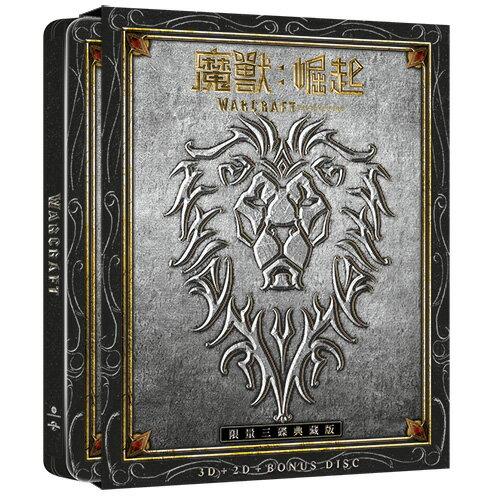 魔獸-崛起圖騰典藏鐵盒 (BD+3D+BONUS) Warcraft: The Beginning