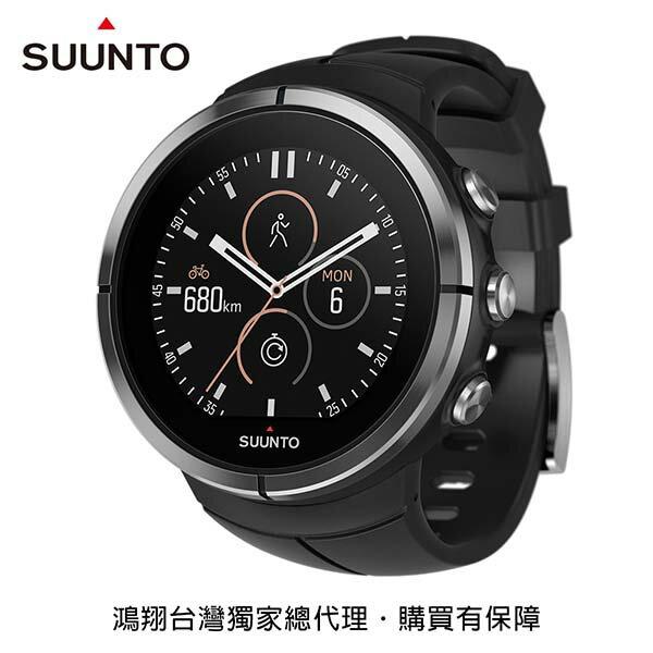 《台南悠活運動家》SUUNTOSPARTANULTRA典藏版GPS運動腕錶黑