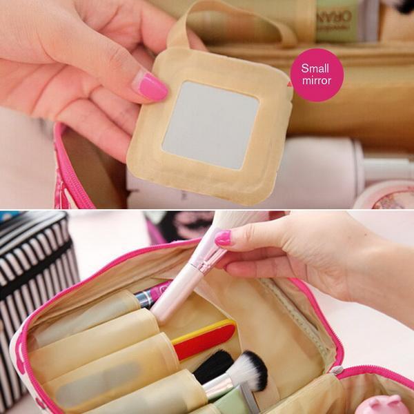 Cosmetic Bag makeup Organizer Holder Handbag 2