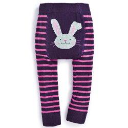 【hella 媽咪寶貝】英國 JoJo Maman BeBe  圖案嬰幼兒內搭褲/保暖襪_可愛兔(JJP011)