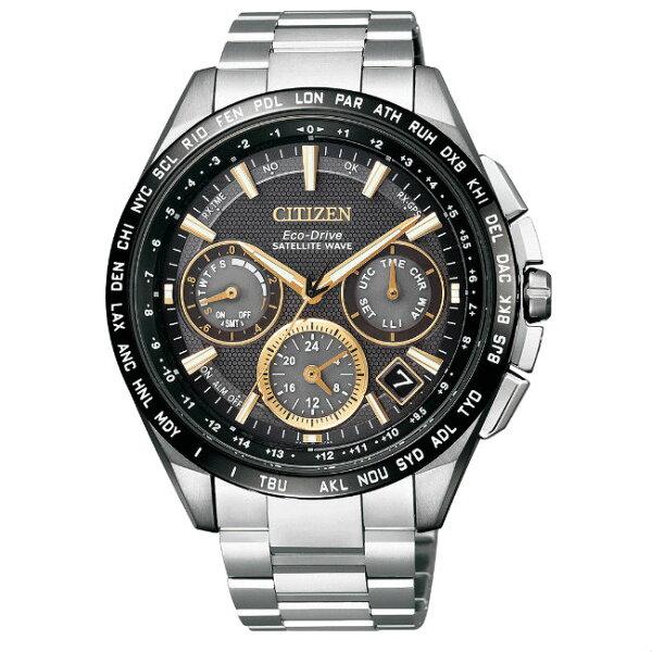 CITIZEN星辰錶CC9015-54F任賢齊配戴款鈦金屬GPS衛星光動能腕錶黑面47mm