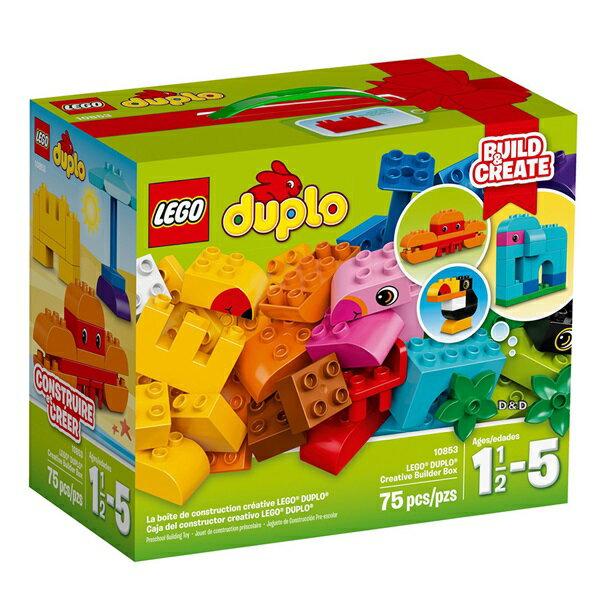 樂高積木 LEGO《 LT10853 》2017 年 Duplo 得寶系列 - 樂高®得寶®創意拼砌箱