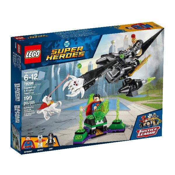 76096【LEGO 樂高積木】超級英雄 Super Heroes 系列 -超人Superman & Krypto Team-Up