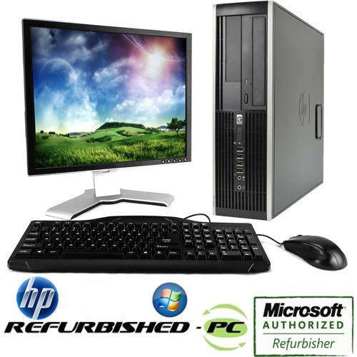 4e9e49f9c HP Compaq 6300 Small Form Factor Computer - Intel Core i5 3.20GHZ CPU 4GB  Memory