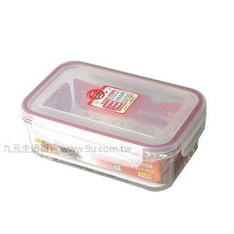 【九元生活百貨】聯府 GR-400 KEYWAY耐熱玻璃保鮮盒-400ml GR400