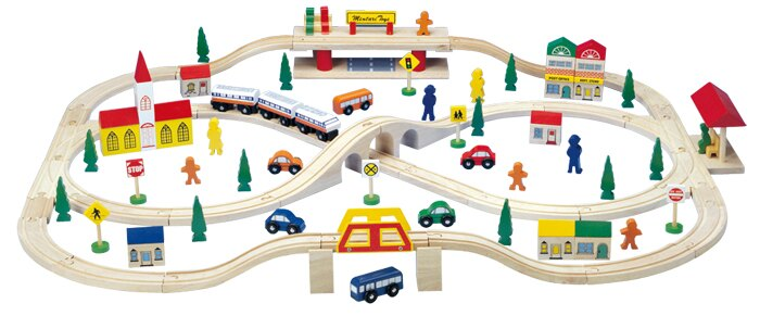 Mentar / Asiarts 華麗小火車軌道組MR-6107 ~送~美國綠潔寶貝玩具法寶1瓶(市價380元)