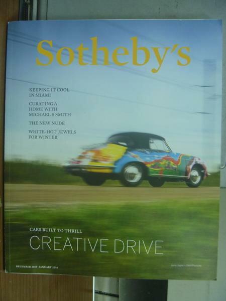 ~書寶 書T3/收藏_PMA~Sotheby #x27 s_Creative drive_