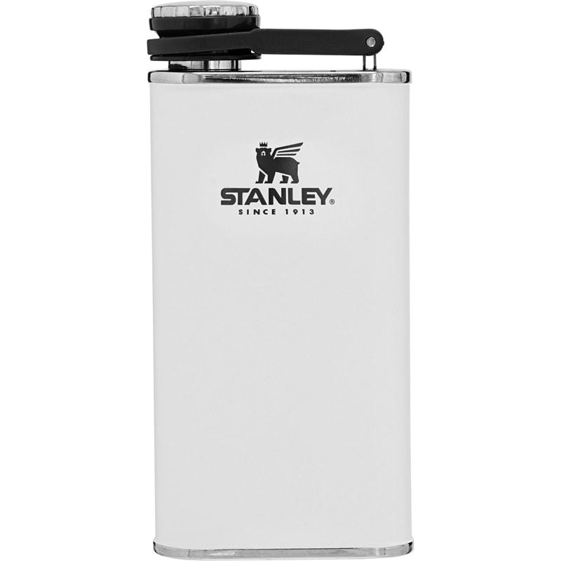 【【蘋果戶外】】Stanley 10-00837 簡約白 經典系列 寬口酒壺 8oz 0.23L 可攜式隨身不鏽鋼水壺