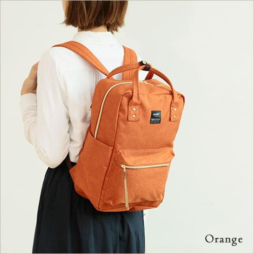 日本anello  /  獨特混色帆布後背包 / 大容量 / 多夾層 /  AT-C1221。共6色-日本必買 日本樂天代購(4212*0.7) 3