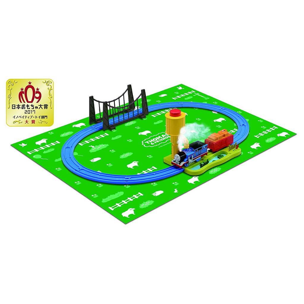 【預購】Plarail Takara Tomy 多美 湯瑪士火車系列 電動火車 可冒蒸汽的小火車 鐵道王國 (含軌道)【星野日本玩具】