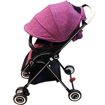 ★衛立兒生活館★Cuibaby 酷貝比 高景觀單向秒收嬰兒推車/手推車-紫色