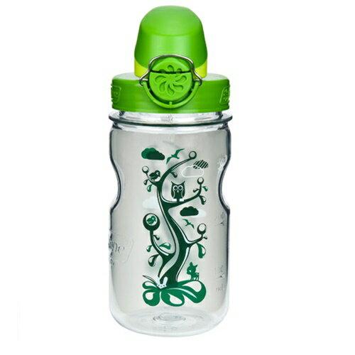 【鄉野情戶外專業】 Nalgene  美國   OTF 兒童水壺 / 耐熱水瓶 BPA Free 375ml /森林綠_1263-0004