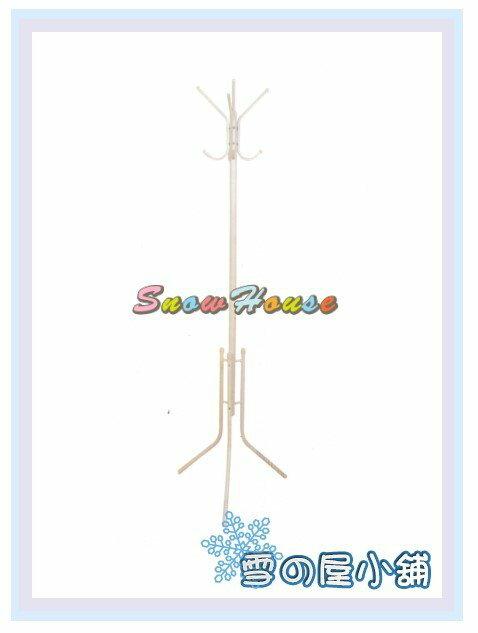 ╭☆雪之屋居家生活館☆╯AA1013-04 衣架(136)白色/吊衣架/衣帽架/掛衣架/DIY自組