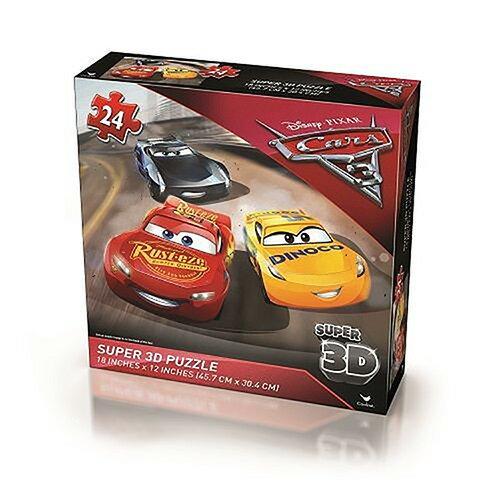 《 汽車總動員 Cars 》Cars3 3D拼圖