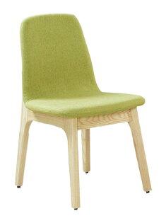 【石川家居】JF-483-10葛麗絲栓木綠色布餐椅(單只)(不含其他商品)台北到高雄搭配車趟免運