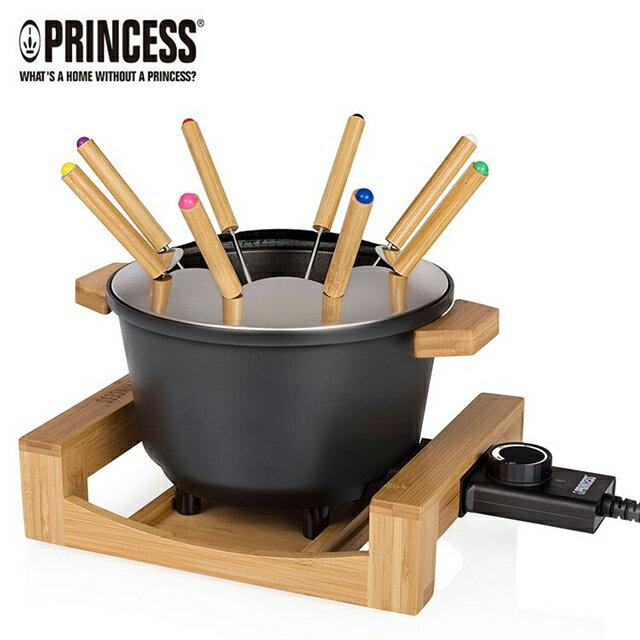 ★加贈專用油炸籃★《PRINCESS荷蘭公主》多功能陶瓷料理鍋(黑) 173026 0