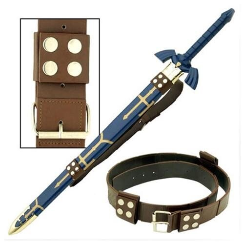 Legend of Zelda Link's Hyrule Sword Leather Belt Replica 0