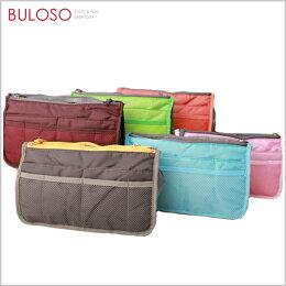 6色韓式包中包/防水雙拉鍊雙層超大加厚手提式袋中袋收納包