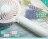 【年度下殺】【市場稀有款】棉花糖系風扇 夜燈 / 彩燈設計 馬卡龍風扇 USB充電風扇 迷你便攜 辦公室小風扇 桌面風扇 USB手拿扇 手持扇 台式風扇 電扇 隨身扇 降溫 立扇 2