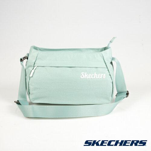 SKECHERS小側背包肩背包斜背包運動包-S57118綠[陽光樂活]