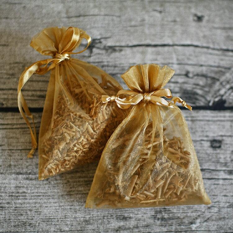 純天然芳香檀木雪紗袋香包(2包裝)