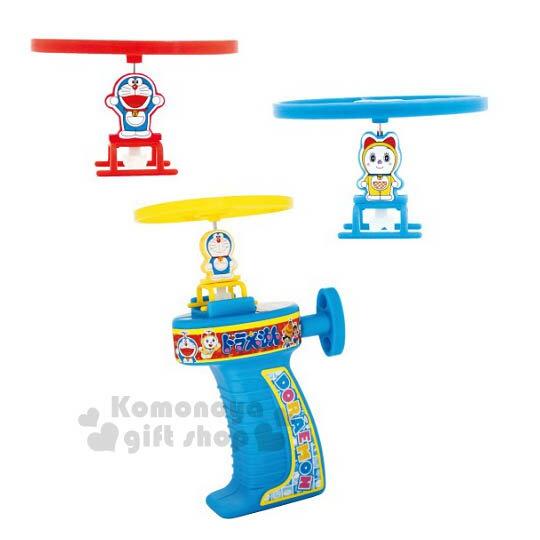 〔小禮堂嬰幼館〕哆啦A夢 竹蜻蜓玩具《紅黃藍.朋友.泡殼裝》適合6歲以上兒童