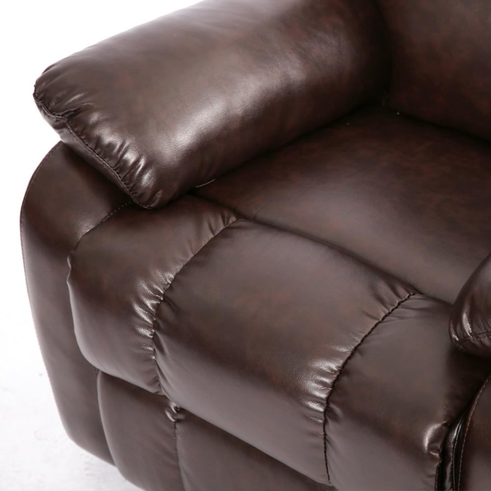 Factory Direct Classic Double Reclining Loveseat Leather Living