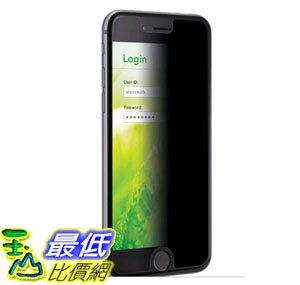 [105美國直購] 3M (MPPAP001) 螢幕防窺片 20*10cm Privacy Screen Protector for Apple iPhone 6/6S - Black