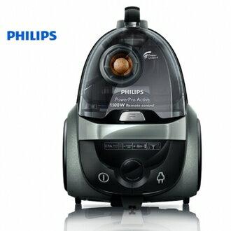 PHILIPS 飛利浦 PowerPro Active無集塵袋式吸塵器 FC8637/31  /出色的清潔效果