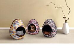《ibiyaya依比呀呀》摩登恐龍蛋寵物窩 FB1412 (3款)狗床/貓窩/寵物床