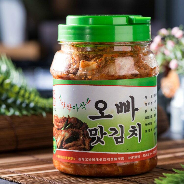 <br/><br/>  ★糕糕在尚★ 歐巴組合 韓國泡菜(1000g / 罐)* 3罐|免運<br/><br/>