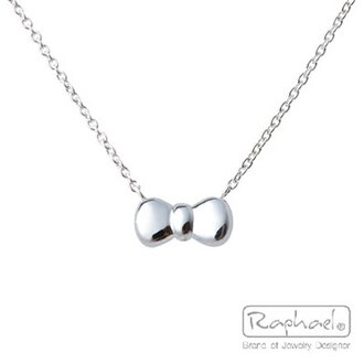 RAPHAEL 拉法兒♥可愛蝴蝶結♥ 銀飾項鍊