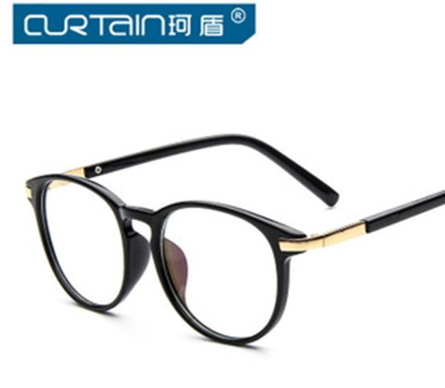 50%OFF【J009787Gls】新款大框個性眼鏡框潮時尚小清新眼鏡架 附眼鏡盒 防紫外線 明星款 反光鏡面 - 限時優惠好康折扣
