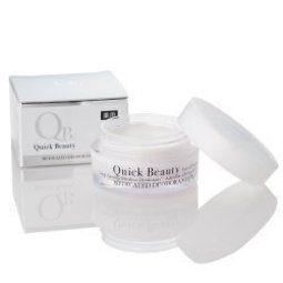 QB零體味七天持久體香膏30g完整盒裝 白金級 效期2019 QB 送零體味潔淨皂30g【淨妍美肌】