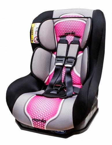 『121婦嬰用品』NANIA 納尼亞 0-4歲安全汽座-粉紅色(安全座椅)FB00292 - 限時優惠好康折扣