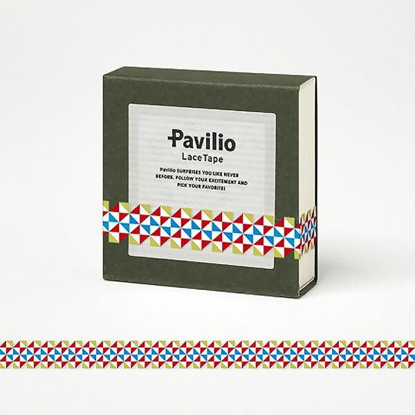 【日本Pavilio】風格膠帶MINI系列F-MI12HR快樂村(紅)捲