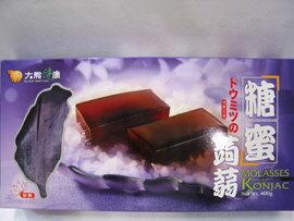《小瓢蟲生機坊》大熊健康 - 糖蜜蒟蒻400公克(8條入/盒) 零食 蒟蒻條
