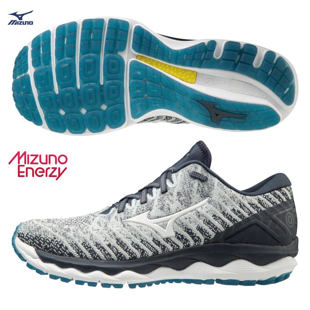 美津濃 國民跑鞋 SKY WAVEKNIT 4 型號 J1GC202501