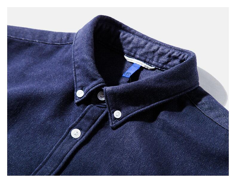 LINAGI里奈子精品【W01299】新品男式襯衫修身日系男式襯衣高級面料男裝 4